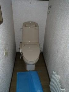 2階のトイレも同じタイプでした