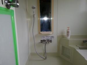 エアインシャワー付きTOTOGGシャワー水栓に交換