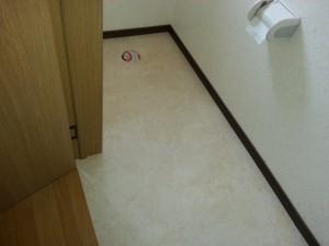 床クッションフロアも張り替えました
