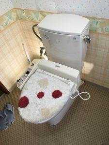 既存トイレのウォシュレットが壊れてしまったとの事