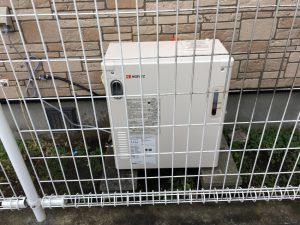 外置き型温水ボイラー