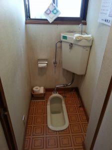 お年を召してきたお母様には和式トイレは厳しくなってきていました。